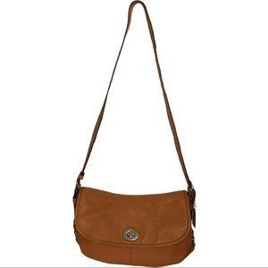 Coach Classic Legacy Turnlock Flap Crossbody Bag